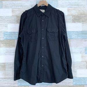 Western Utility Shirt Black PD&C